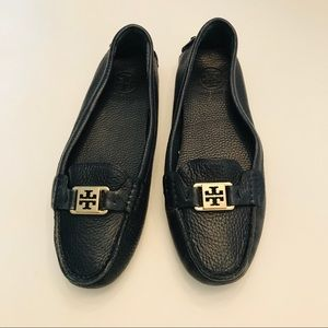 Tory Burch Navy Kendrick Driving Loafer